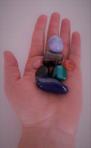 travail avec les minéraux